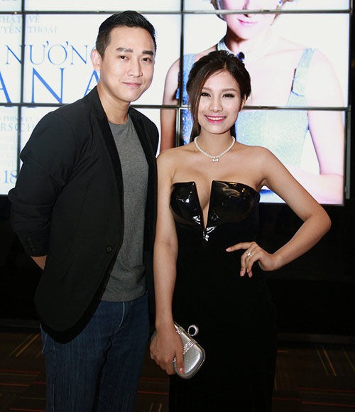 "Trang Nhung ""ngoan hiền"" đi xem phim Diana - 9"