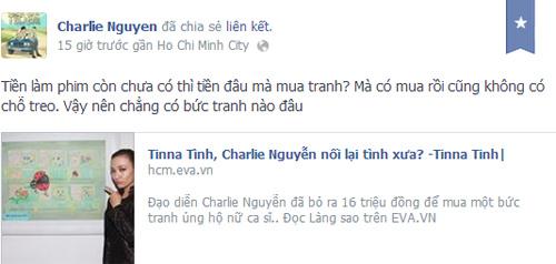 Charlie Nguyễn: Nhảm nhí tranh 16 triệu Tina Tình - 3