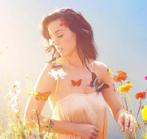 Katy Perry hóa nàng tiên bướm xinh đẹp - 1