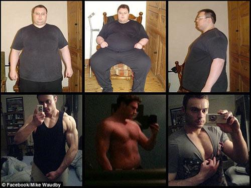 Chàng béo giảm 115 kg để có bạn gái - 4