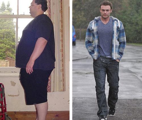Chàng béo giảm 115 kg để có bạn gái - 3