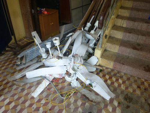 Đà Nẵng: Nhiều trường tan hoang sau bão số 11 - 7