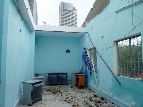 Đà Nẵng: Nhiều trường tan hoang sau bão số 11 - 6