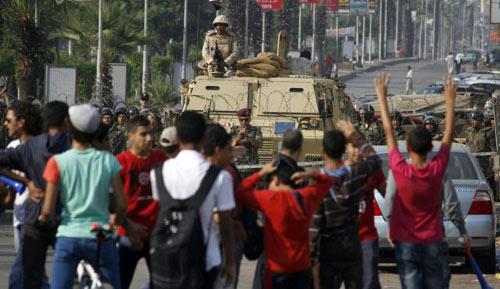 Ai Cập sẽ tử hình người biểu tình bạo lực - 1