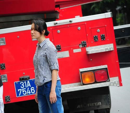 Xe cứu hỏa xuất hiện trong Cuộc đua kỳ thú - 3