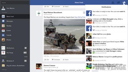 Microsoft tung ứng dụng Facebook dành cho Windows 8/8.1 - 3