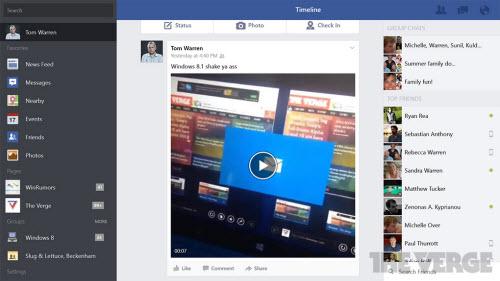 Microsoft tung ứng dụng Facebook dành cho Windows 8/8.1 - 6