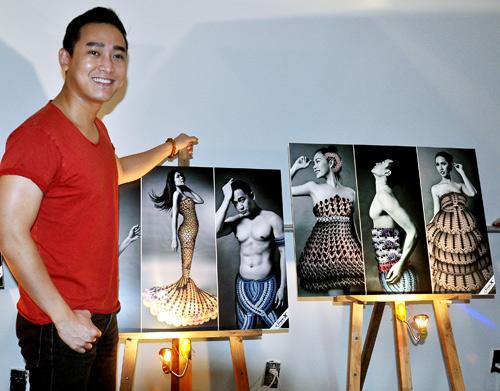 Kim Hiền mặc váy kết từ nghìn bao cao su - 12