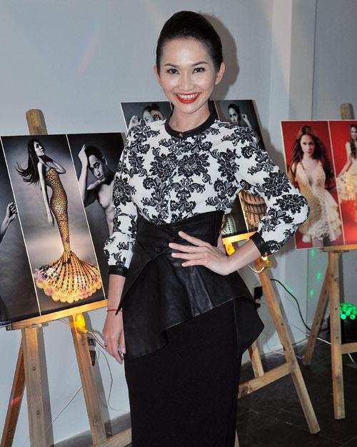 Kim Hiền mặc váy kết từ nghìn bao cao su - 3