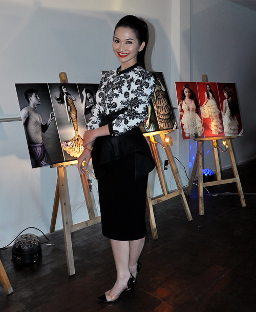 Kim Hiền mặc váy kết từ nghìn bao cao su - 5