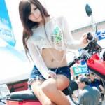 Ô tô - Xe máy - Người đẹp mặc áo xuyên thấu tại triển lãm xe