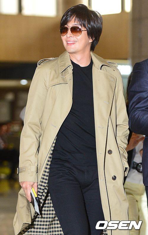 Kim Hyun Joong đi Nhật cùng Bae Yong Joon - 1