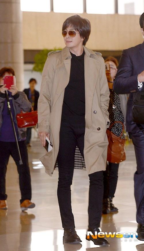 Kim Hyun Joong đi Nhật cùng Bae Yong Joon - 6