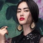 Thời trang - Góc ảnh lạ của á hậu Linh Chi