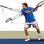 Học tennis qua ti vi: Cú cắt trái