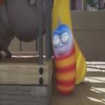Video Clip Cười - Phim hoạt hình Larva: Xin chào Black