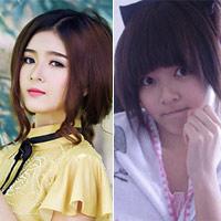 Hot girl Việt khác lạ với mặt mộc