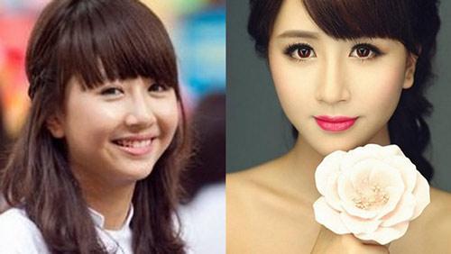 Hot girl Việt khác lạ với mặt mộc - 11