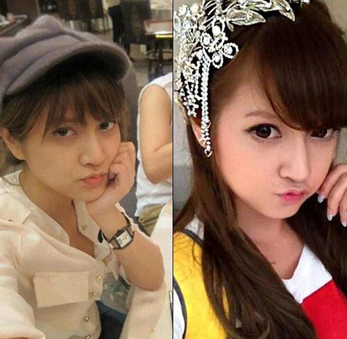 Hot girl Việt khác lạ với mặt mộc - 13