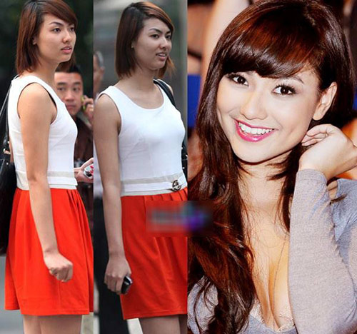 Hot girl Việt khác lạ với mặt mộc - 2