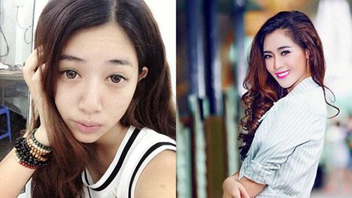 Hot girl Việt khác lạ với mặt mộc - 5