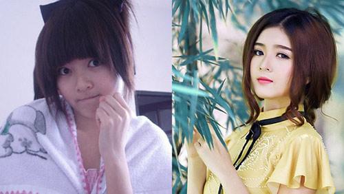 Hot girl Việt khác lạ với mặt mộc - 9