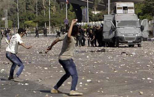 Ai Cập: Cảnh sát nổ súng vào sinh viên biểu tình - 2