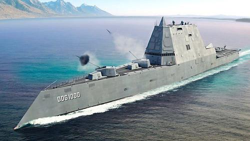 Mỹ sắp hạ thủy siêu tàu khu trục 3,5 tỉ USD - 3