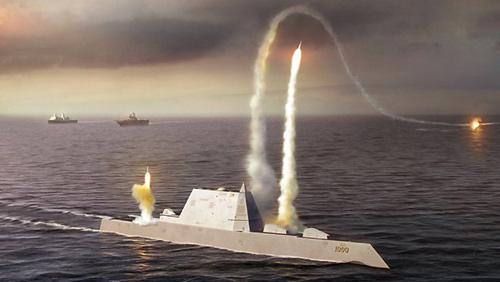 Mỹ sắp hạ thủy siêu tàu khu trục 3,5 tỉ USD - 2