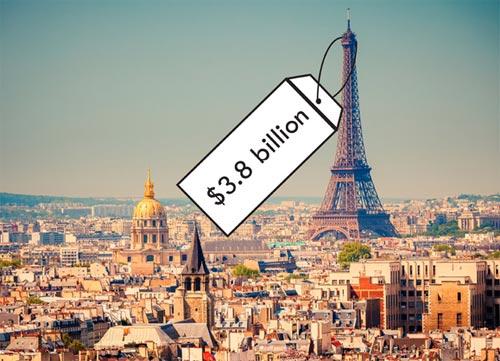 Kinh đô Paris trị giá bao nhiêu? - 1