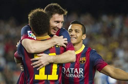 Messi: Tiến đánh Milan, chờ đón Real - 1