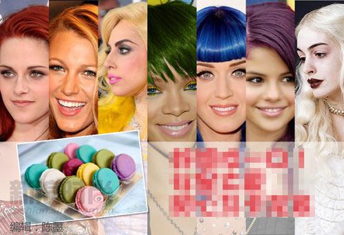 Màu tóc lấy cảm hứng từ tâm hồn ăn uống - 1