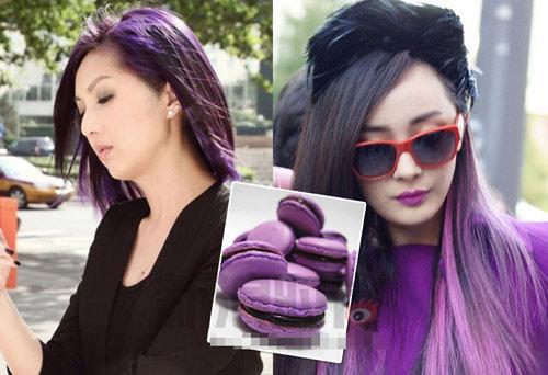 Màu tóc lấy cảm hứng từ tâm hồn ăn uống - 9