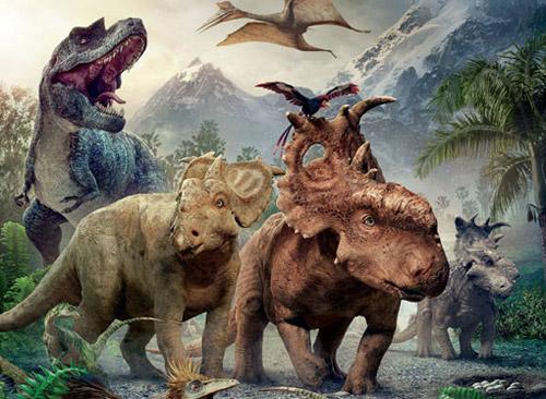 Phim 3D thơ mộng về thời khủng long - 2