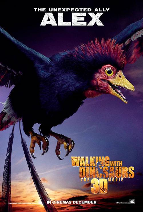 Phim 3D thơ mộng về thời khủng long - 3