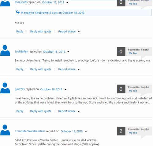 Windows 8.1: Lỗi khó hiểu và những phiền toái - 3
