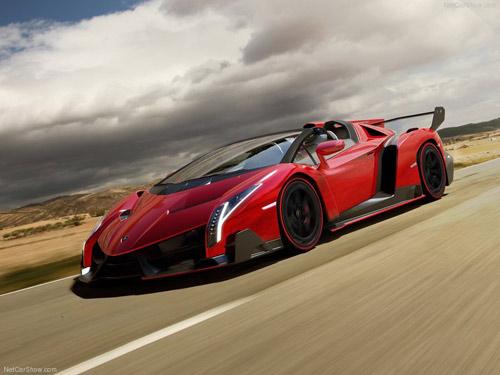 Siêu phẩm Lamborghini Veneno Roadster trình làng - 1