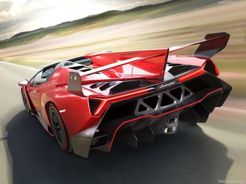 Siêu phẩm Lamborghini Veneno Roadster trình làng - 2