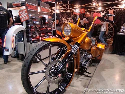 Dàn mô tô hầm hố tại lễ hội xe Las Vegas - 10