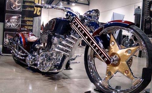 Dàn mô tô hầm hố tại lễ hội xe Las Vegas - 2
