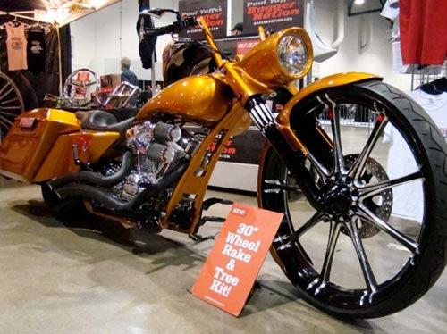 Dàn mô tô hầm hố tại lễ hội xe Las Vegas - 3