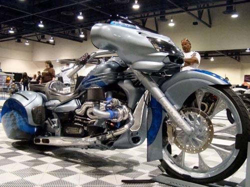 Dàn mô tô hầm hố tại lễ hội xe Las Vegas - 4