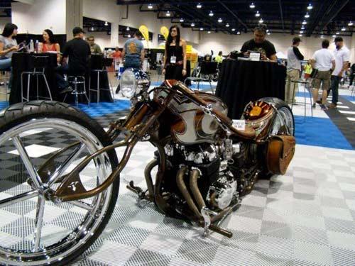 Dàn mô tô hầm hố tại lễ hội xe Las Vegas - 6