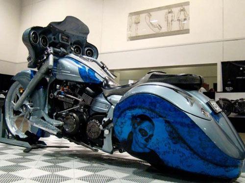 Dàn mô tô hầm hố tại lễ hội xe Las Vegas - 8