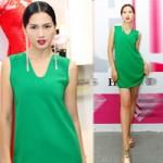 Thời trang - Anh Thư gợi cảm với váy siêu ngắn