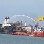 Tin tức trong ngày - Đã dập tắt đám cháy trên tàu cẩu Wealthy Global