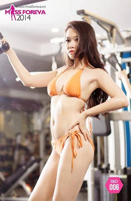 Nữ sinh hot nhất đại học Y khoe dáng - 2