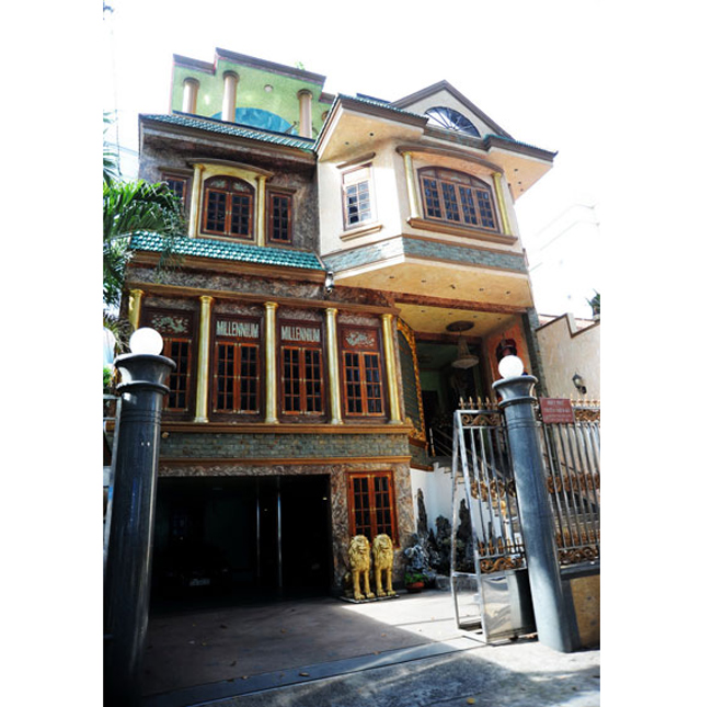 """Ngôi nhà của  """" Ông vua nhạc sến """"  tọa lạc trên cung đường vàng Sương Nguyệt Ánh của Quận 1 Tp.HCM"""