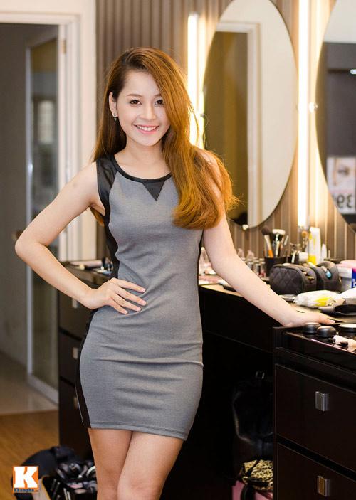 Vẻ đẹp tươi trẻ của hot girl Chi Pu - 10