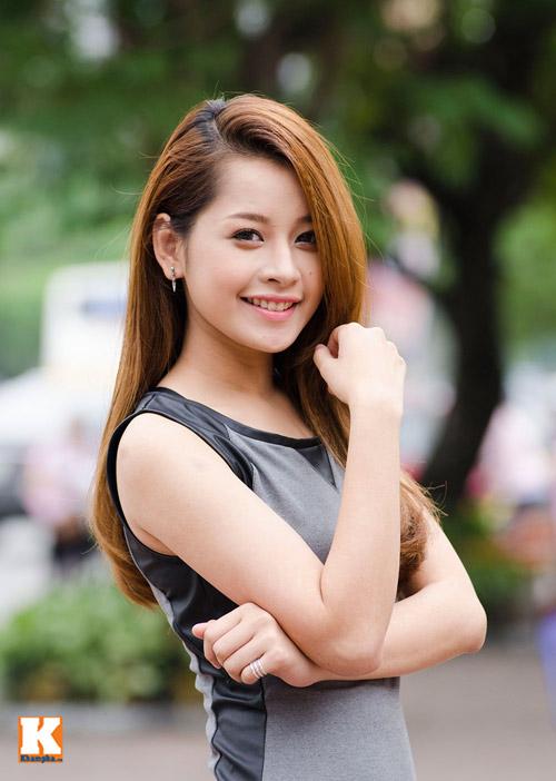 Vẻ đẹp tươi trẻ của hot girl Chi Pu - 6